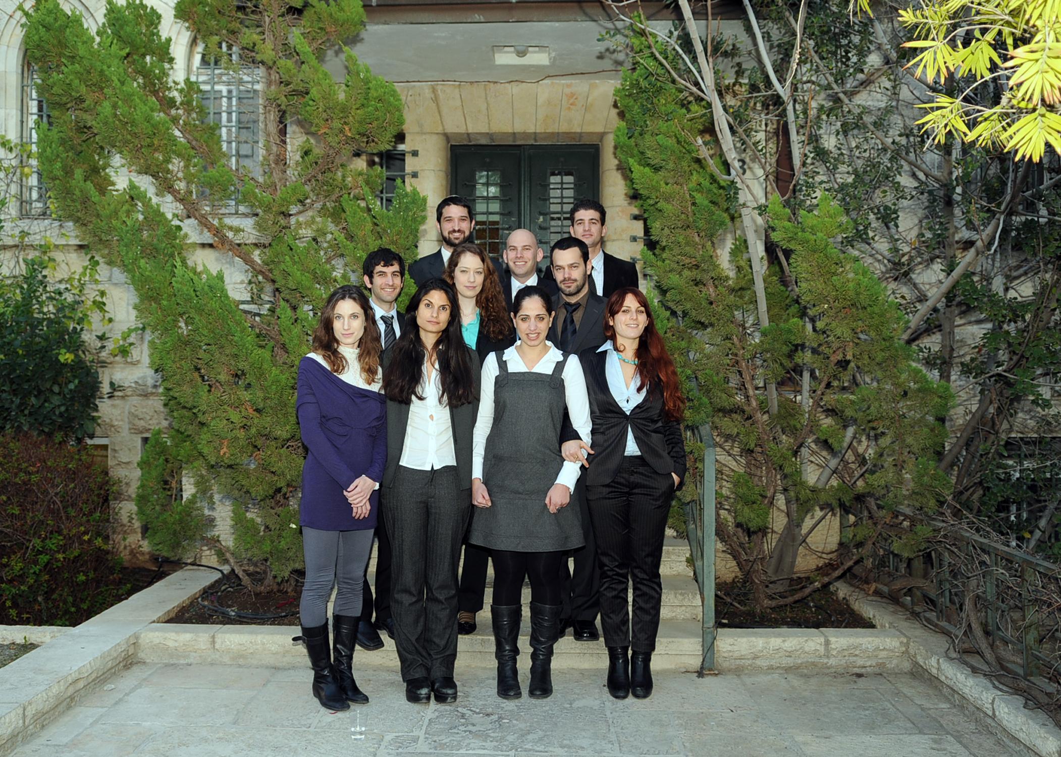 2008-9 Fellows Beit Milken