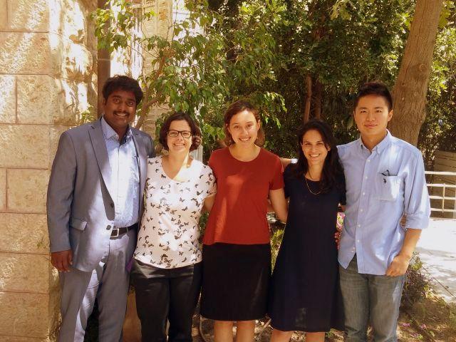 עמיתים גלובליים 2016 סוף-שנה עם אורלי מובשוביץ לנדסקרונר, מנהלת תכניות עמיתים