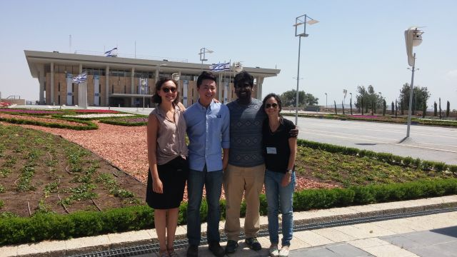 Global Fellows class 2016 by the Knesset