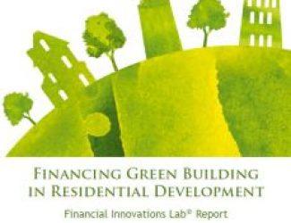 מימון בנייה ירוקה בפיתוח מגורים